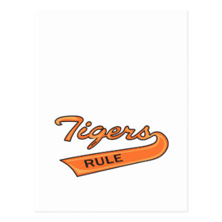 Tigers Rule Postcard