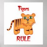 Tigers Rule Print