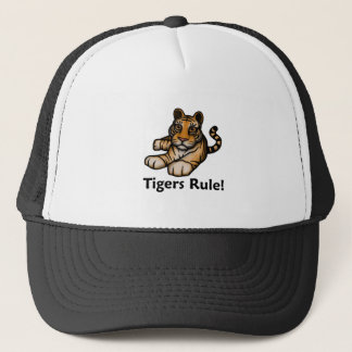 Tigers Rule! Trucker Hat