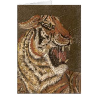 tigers snarl card