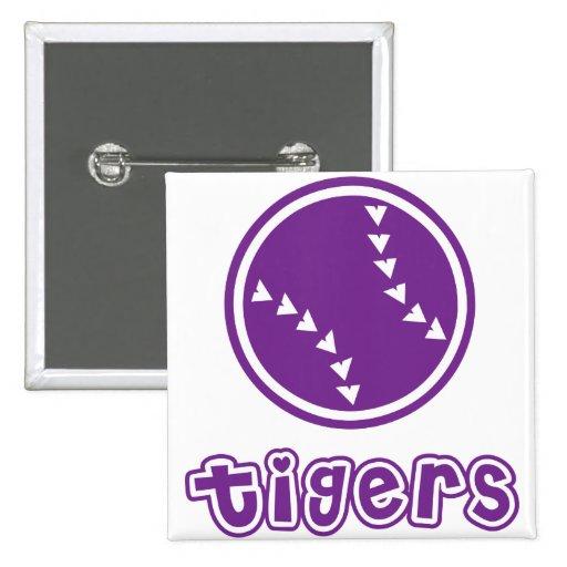 Tigers Softball Pins