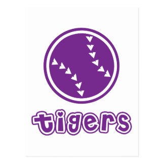 Tigers Softball Postcard