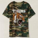 Tigers Sports Camo T-Shirt