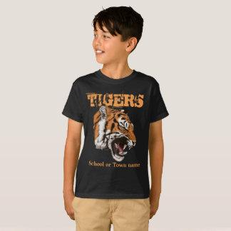 Tigers Sports kids dark color t-shirt