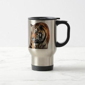 Tigers wild life travel mug