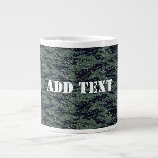 Tigerstripe Green Camouflage Jumbo Mugs