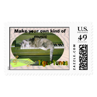 tigertune, Make your own kind of music Postage Stamp