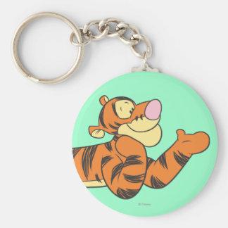 Tigger 10 basic round button keychain