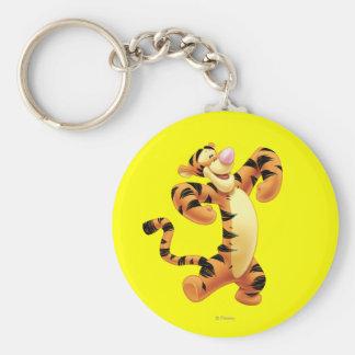 Tigger 2 basic round button keychain