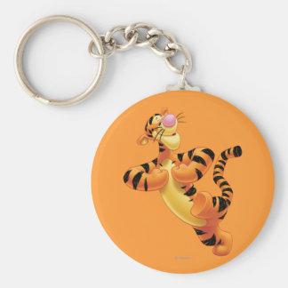 Tigger 6 basic round button keychain