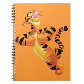 Tigger 6 spiral notebook