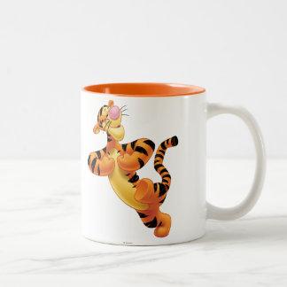 Tigger 6 taza de café de dos colores