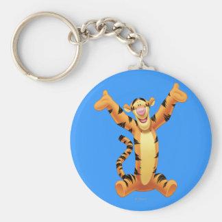 Tigger 8 basic round button keychain