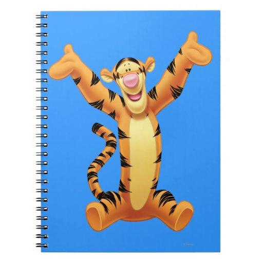 Tigger 8 spiral notebook