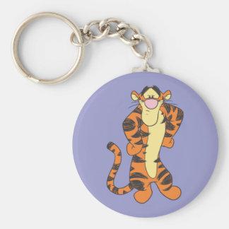 Tigger 9 basic round button keychain