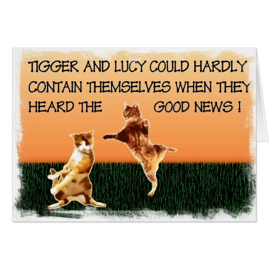 Tigger and Lucy Card
