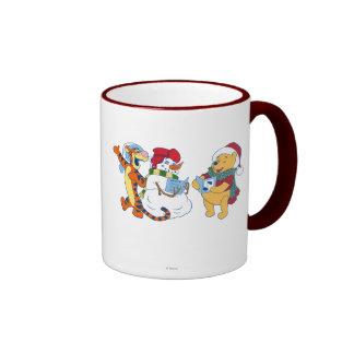 Tigger and Pooh Carolling Ringer Mug