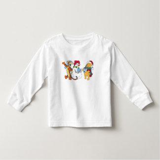 Tigger and Pooh Carolling Toddler T-shirt