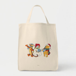 Tigger and Pooh Carolling Tote Bag