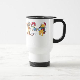 Tigger and Pooh Carolling Travel Mug