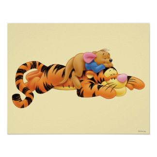 Tigger and Roo Poster