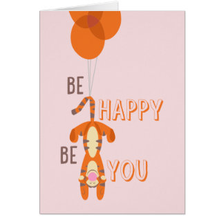 Tigger | Be Happy Be You Quote Card