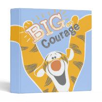 Tigger   Big Courage 3 Ring Binder
