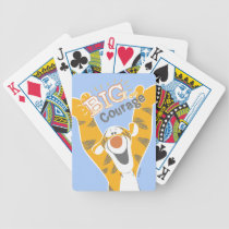 Tigger   Big Courage Bicycle Playing Cards