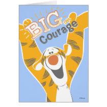 Tigger   Big Courage Card