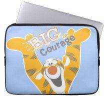 Tigger   Big Courage Computer Sleeve