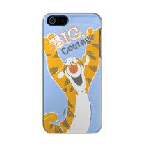 Tigger   Big Courage Metallic Phone Case For iPhone SE/5/5s