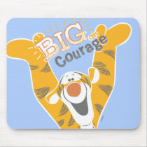 Tigger   Big Courage Mouse Pad