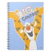 Tigger   Big Courage Notebook