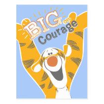 Tigger   Big Courage Postcard