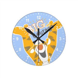 Tigger | Big Courage Round Clock
