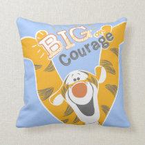 Tigger   Big Courage Throw Pillow