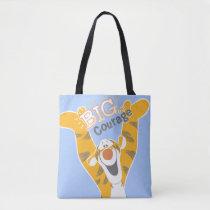 Tigger   Big Courage Tote Bag