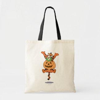 Tigger in Pumpkin Costume Tote Bag