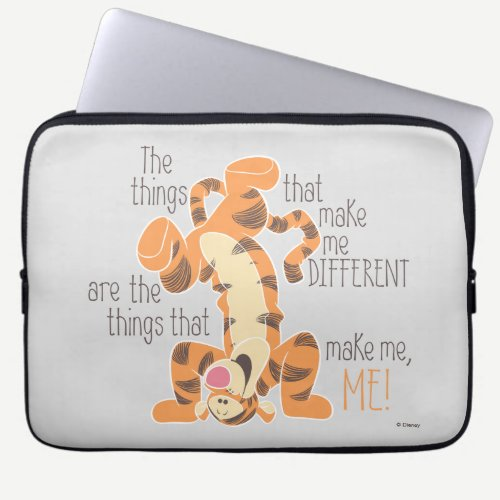 Tigger | Make Me, Me Quote Laptop Sleeve