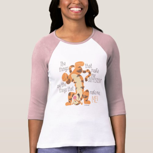 Tigger  Make Me Me Quote T_Shirt