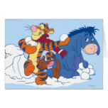 Tigger, Roo, and Eeyore Cards