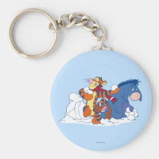 Tigger, Roo, and Eeyore Keychain