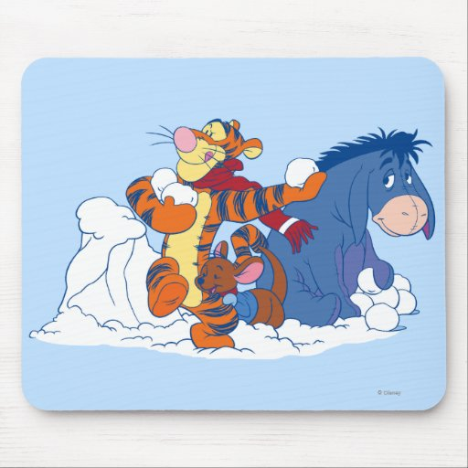 Tigger, Roo, and Eeyore Mouse Pads