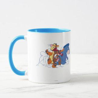 Tigger, Roo, and Eeyore Mug