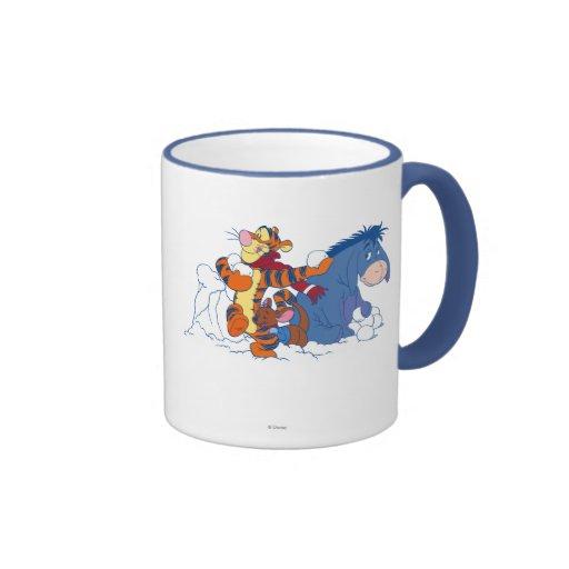 Tigger, Roo, and Eeyore Mugs