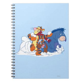 Tigger, Roo, and Eeyore Notebook