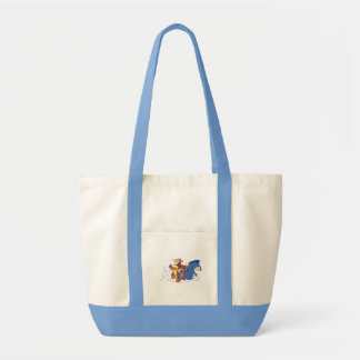 Tigger, Roo, and Eeyore Tote Bag