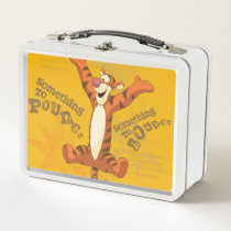 Tigger - Something to Pounce 2 Metal Lunch Box