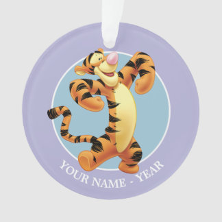 Tigger   Standing Add Your Name Ornament