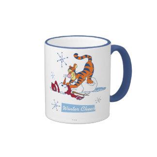 Tigger Winter Cheer Ringer Mug